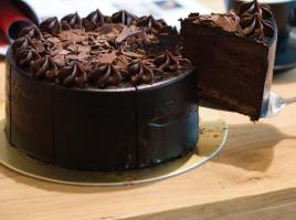Double chocolate cake(thumbnail)